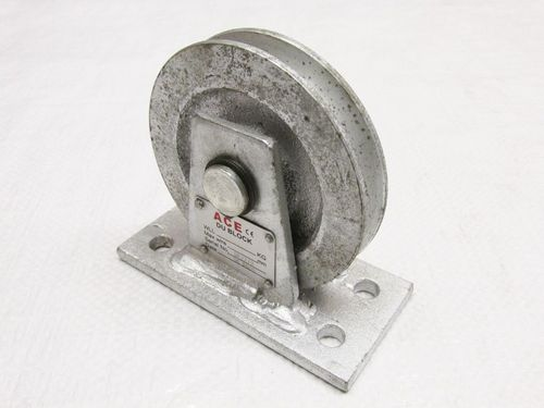 Galvanised Vertical Lead Blocks ( Lifting / Pulley / Hoisting )